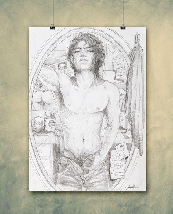 ARTWORK JASMINE BIASOTTO – PRINT JB02    10,00€    Dimensioni stampa  21 x 30 cm    Cartoncino Usomano ( Color Copy da 200 gr )    Stampa digitale, numerata e timbrata T-Squirt sul retro.