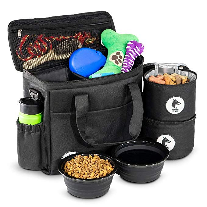 Top Dog Travel Bag Airline Approved Travel Set For Dogs Stores