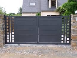 Best 25 Portail Coulissant Ideas On Pinterest Porte Entree Maison Portes Coulissantes