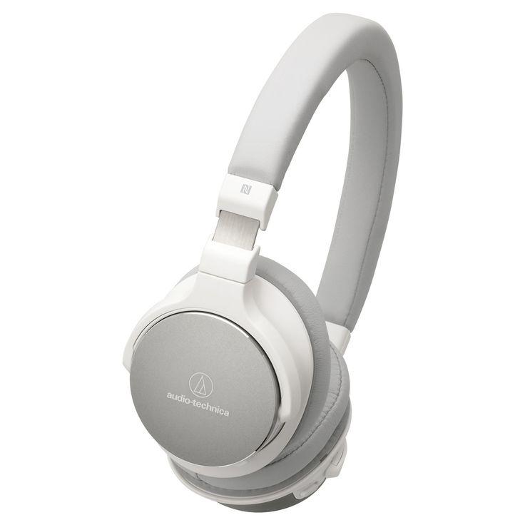 Audio Technica Wireless On-Ear High-Resolution Audio Headphones - White