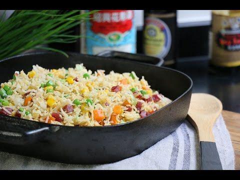 Riz cantonais : la vrai recette de cuisine chinoise ! - YouTube