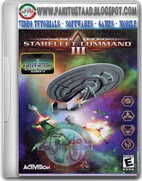 Star Trek Starfleet Command III PC Game Cover