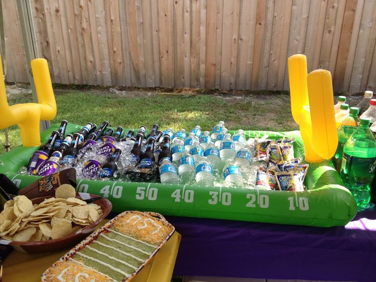 Lsu Football Party Ice Raft For Drinks  Ty's Party. Ideas To Decorate Living Room. Diy 4th Of July Decorations. Decorating A Bedroom Dresser. Beach House Wall Decor. Family Room Sofas. Rent A Center Living Room Sets. Decorative Wall Fans. Christmas Village Decorations