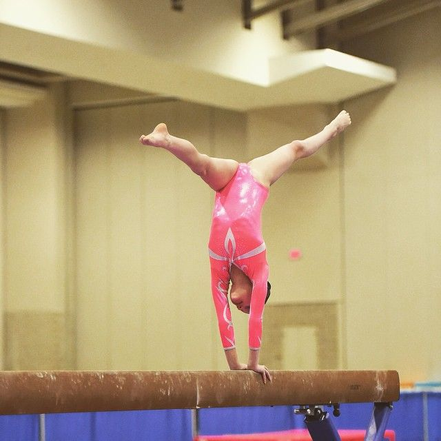 Annie once fell off beam when doing a splitleap at a past gym called docksiders
