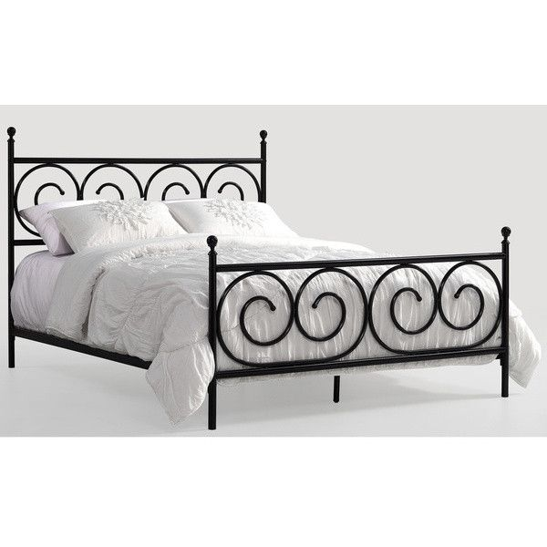 charmers moustache black queen bed 160 liked on polyvore featuring home furniture
