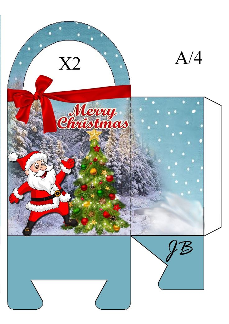 508 best Templates images on Pinterest Boxes, Envelopes and Box bag - christmas paper template