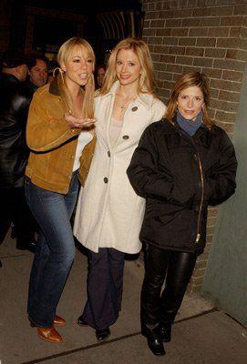 Mira Sorvino, Mariah Carey and Melora Walters