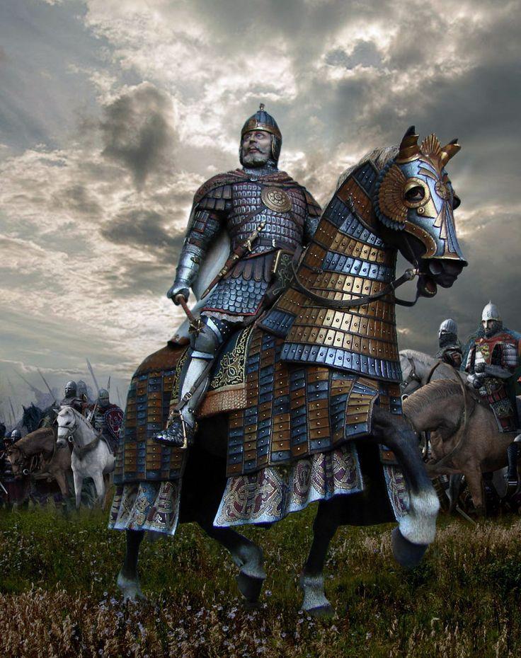 Князь Дмитрий Донской, Великий князь 1363-1389. Русь.  М1:14.