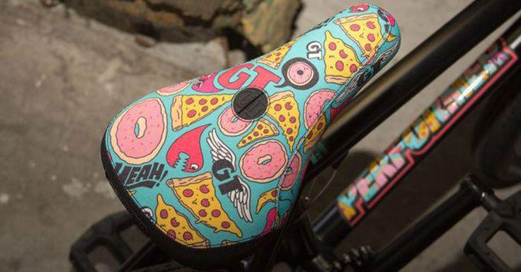 The Art of the #BMX Seat   View: http://bmxunion.com/blog/the-art-of-the-bmx-seat/   #bike #bicycle #seat #art #design