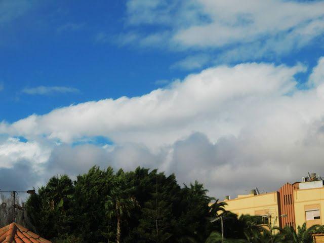 Desde las Islas Canarias  ..Fotografias  : Cambio el tiempo en el sur de Gran Canaria