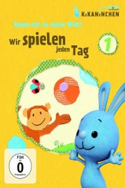 Kikaninchen - Komm mit in meine Welt: Wir spielen jeden Tag DVD - after meeting the Kikaninchen characters, visit their website www.kikaninchen.de for more fun