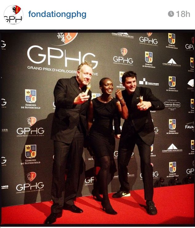 "GPHG 2014: Urwerk won the prices of ""Mechanical Exception"" and ""Innovation"" with the EMC black"