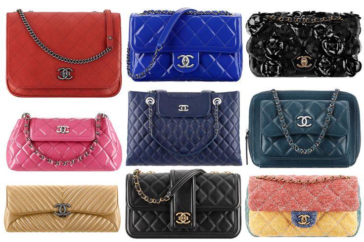 Chanel Pre-Spring Summer 2015 Seasonal Bag Collection ...