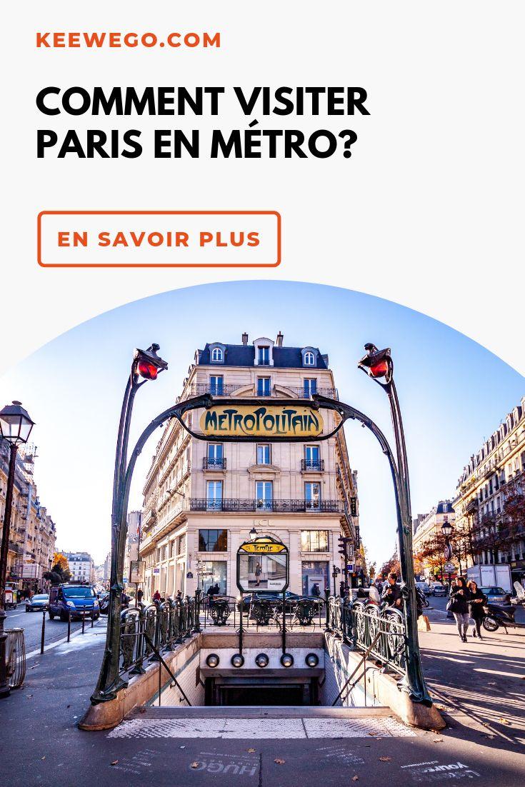 Le métro parisien un incontournable à visiter Metro