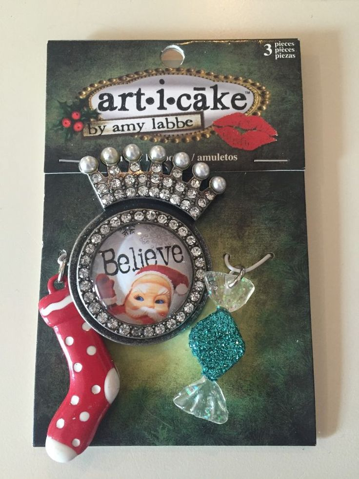 Cake Art By Amy : ART I CAKE Believe , Candy , And Stocking Pendants ...