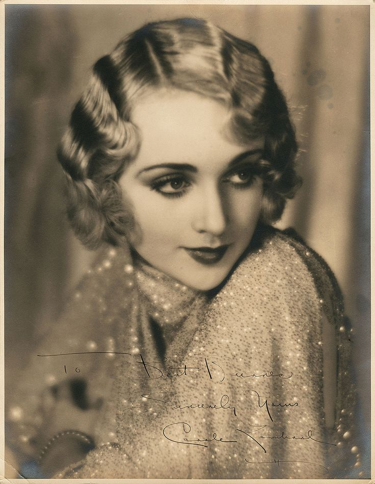 This hair is just too cool // Carole Lombard, 1929. Photo by William E. Thomas