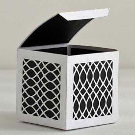 Lattice Gift Box with Free Cutting File for the Silhouette Cameo Cutting Machine