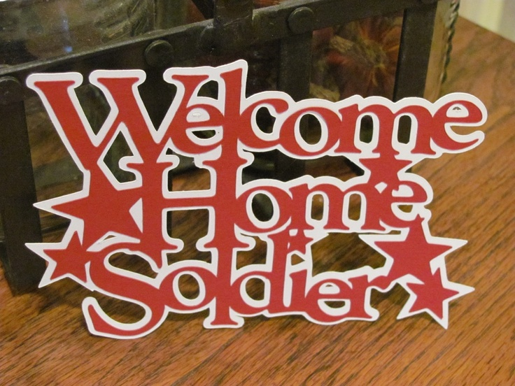 152 best images about welcome home party ideas for for Military welcome home party decorations