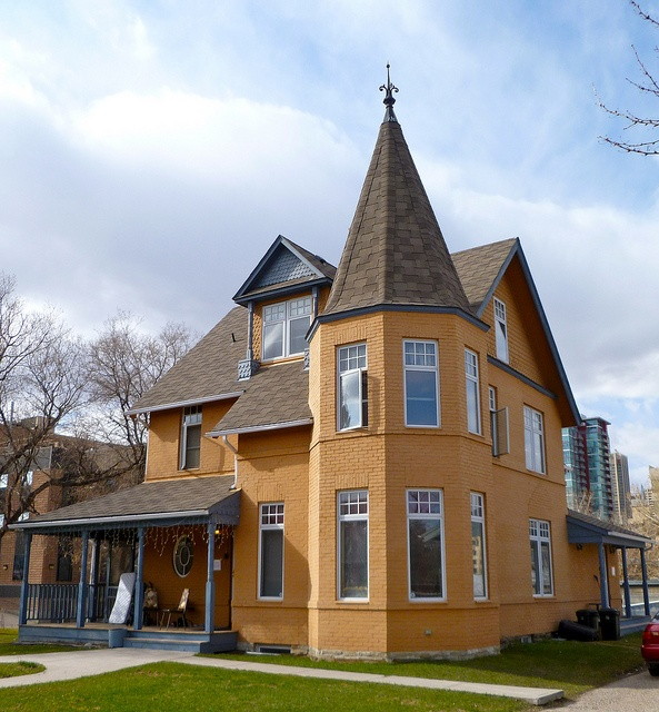 *Mission... McHugh House. Built around 1896, this Queen Anne Revival style house was the home of pioneer rancher J.J. McHugh and his family. It has been a boarding house, a residence for Basilian Fathers, and a group home... Photo by: BillLongstaff via Flickr