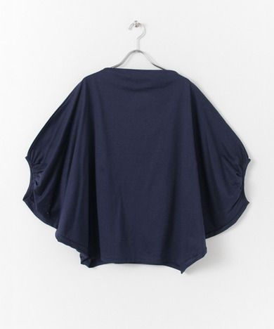 mizuiro-ind cocoon tucked SLEEVE PULLOVER - URBAN RESEARCH ONLINE STORE