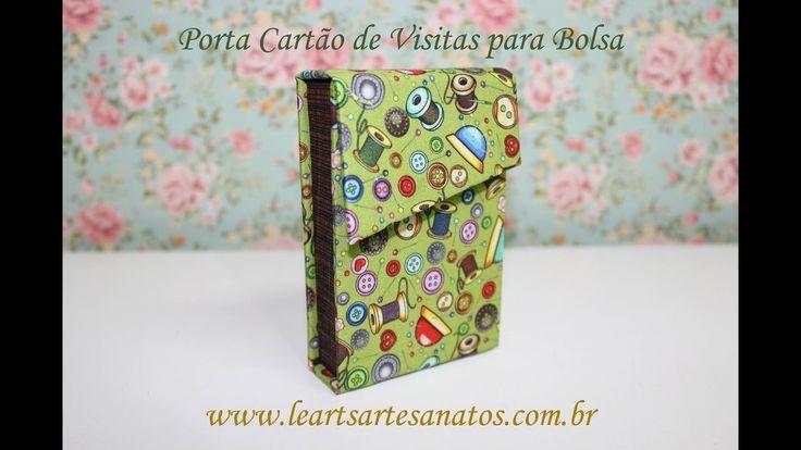 PORTA CARTÃO DE VISITAS PARA BOLSA