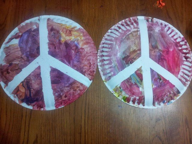 Give peace (crafts) a chance! For your next afternoon of creativity, we've rounded up projects with a peace-themed twist. These ideas are perfect for International Day of Peace (September 21) or a regular ol' Saturday. And while you're getting crafty, you can use the opportunity to talk with the kiddos about what peace means to them. Scroll through the crafts below for painted peace rocks, a...
