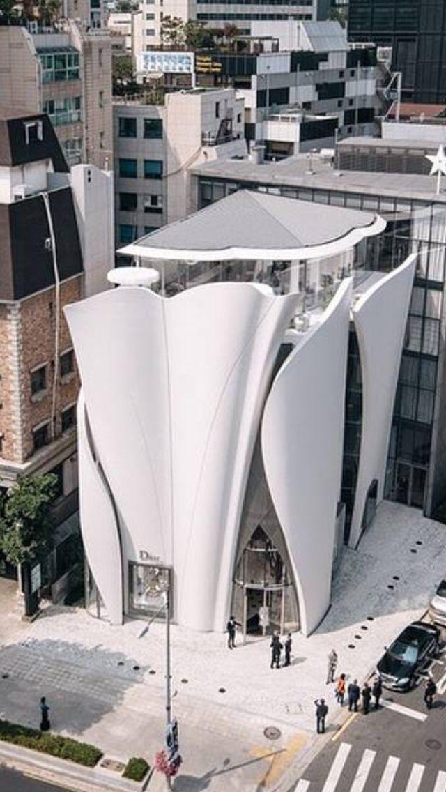 DIOR à Séoul / Corée du Sud Architecte Christian de Portamzac