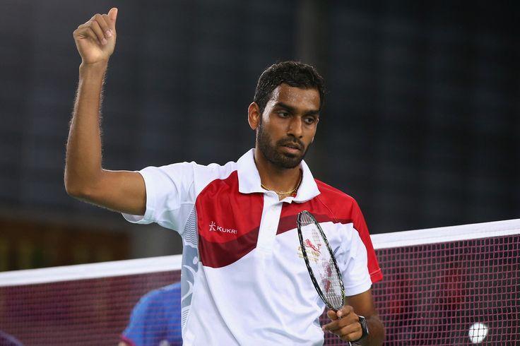 Rajiv Ouseph of England. 20th Commonwealth Games: Badminton