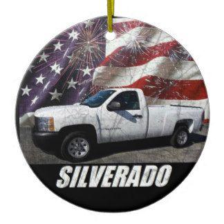 2003 Silverado 1500 Regular Cab W/T Long Bed Ceramic Ornament