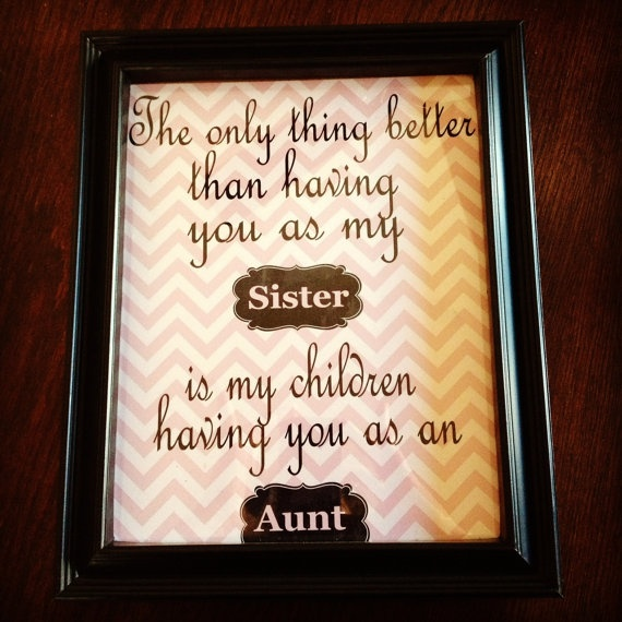 What to give to aunt on birthday, that she liked it