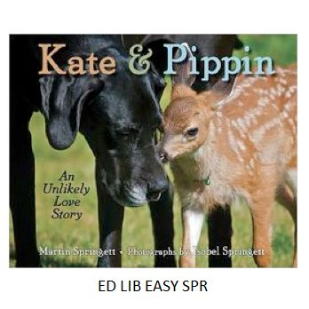 Kate and Pippin - by Martin Springett, photographs by Isobel Springett.