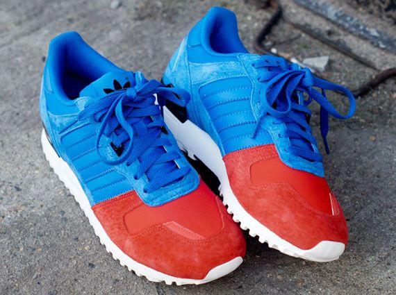 adidas zx 700 aqua navy & red