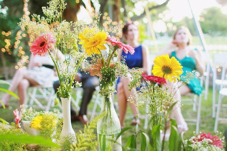 Backyard Rustic Country Wedding