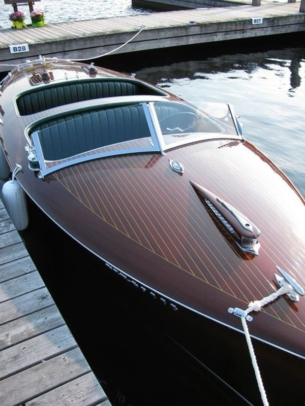 Bucket List: Own a hand made wooden boat. This is my dream!