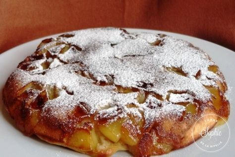 Gâteau aux pommes à la poêle et donc qui ressemble à une tarte :P