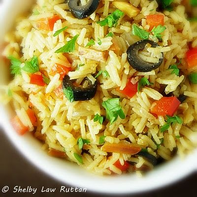 ... Almond Rice, Pilaf Thanksgiving, Rice Pilaf, Saffron Fora, Olive Fans