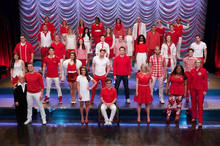 "Glee Finale ""Dreams Come True"". via: http://amberrileynews.com/"