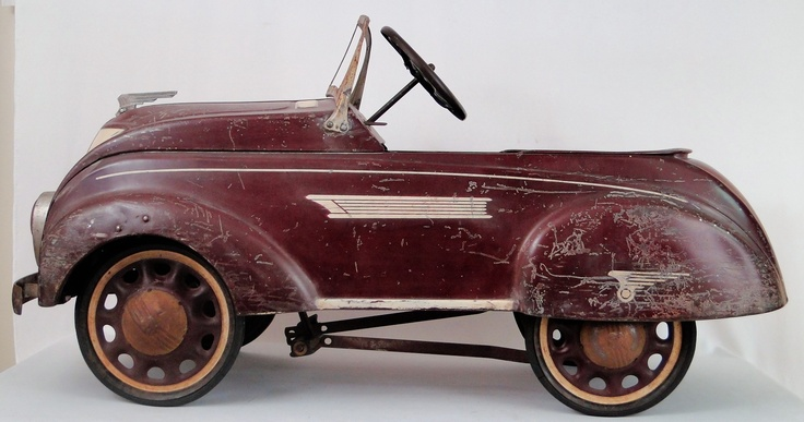 Estate Vintage Chrysler Petal Car.... Up for Auction on our eBay Store http://stores.ebay.com/BKCRANSTON