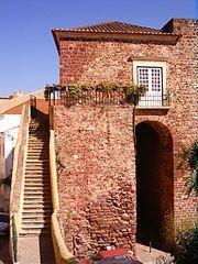 Main gate (Porta de Loulé) of the old Moorish city centre (Almedina) of Silves.