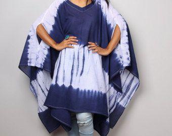 Shibori Summer Dress / Tie Dye Halter Dress/ Blue and by Nuichan