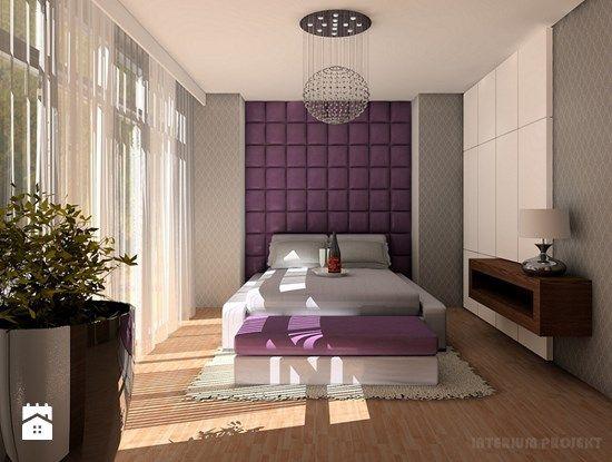 Sypialnia styl Glamour - zdjęcie od Interium Projekt