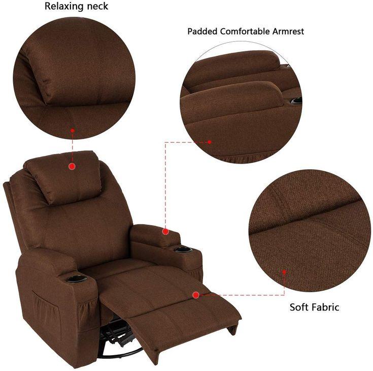 Ergonomic massage recliner chair 360 2020 recliner