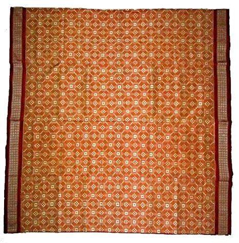 Premium Sambalpuri Silk Saree with Blouse Piece