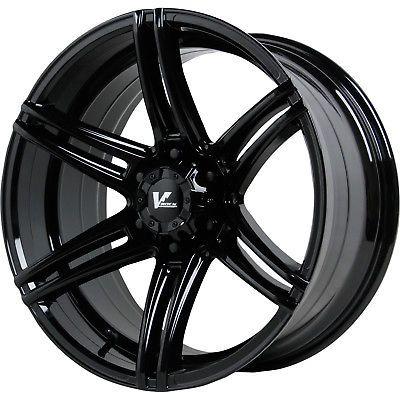20x9.5 Black V-Rock Terrain 6x5.5 20 Rims Trail Blade XT Tires