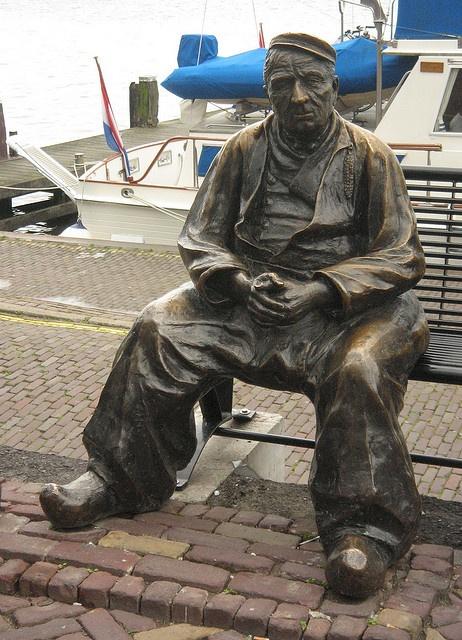 Pêcheur à Volendam - Hollande