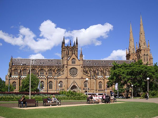 St Mary's Cathedral - Hyde Park (open for Easter Services and tours given at set times)