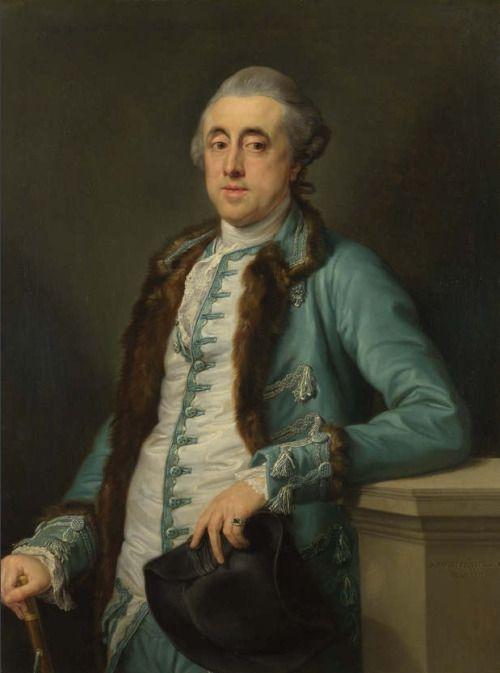 1774 Pompeo Girolamo Batoni - Portrait of John Scott of Banks Fee