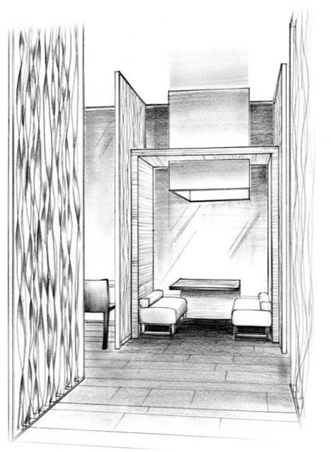 126 best sketches arch images on pinterest sketches for Minimalist house sketch