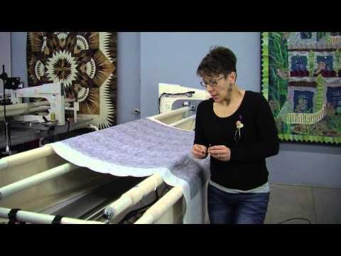 Video 7 Aligning your pantograph for edge to edge longarm quilting - YouTube