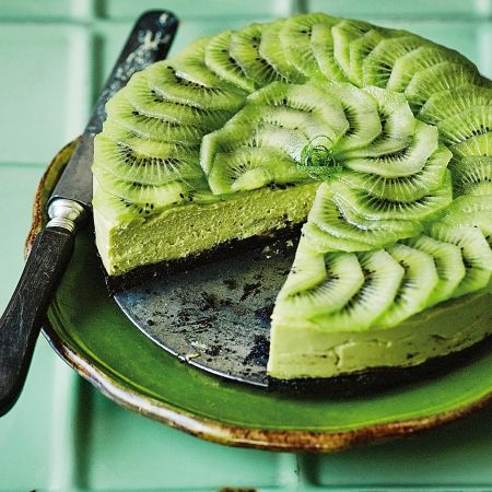 Easy avocado recipes don't get much better than an avocado and lime cheesecake. The easiest dinner party dessert around. Get this and more easy dessert recipes at Redonline.co.uk